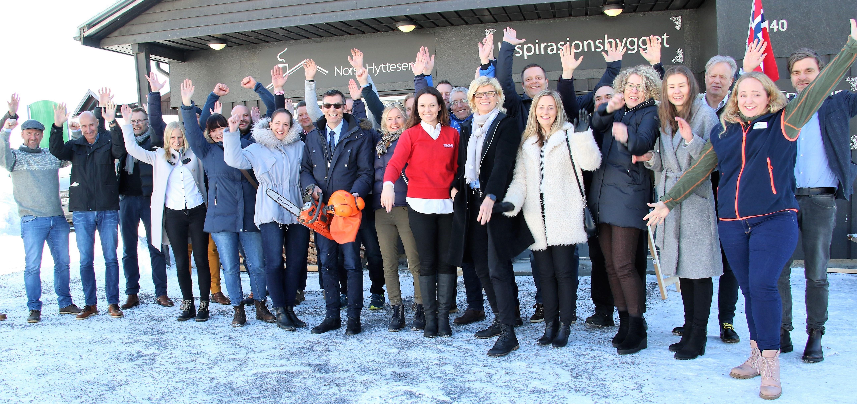 Besøk Inspirasjonsbygget på Norsk Hyttesenter!